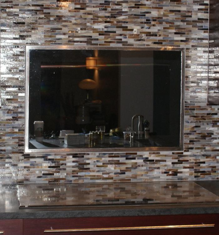 Cost To Make Mirror Backsplash Kitchen
