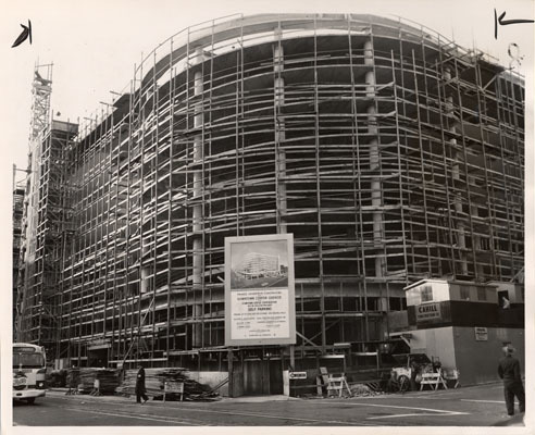 1955 - Construction of the Downtown Parking Center 1-19-1955.jpg